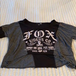 Tops - Fox Racing Crop Top
